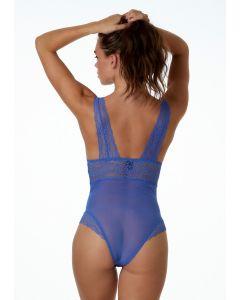 Blauwe body Florine