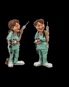 Funny figures - verpleegster