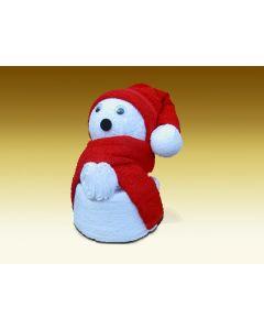 Towel dolls Kerstbeer groot