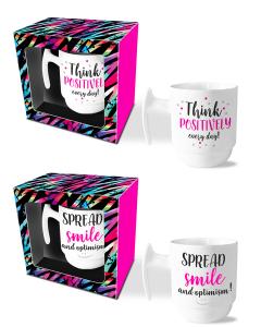 Mokkenset Think positively/Spread smile